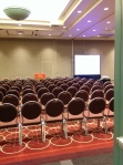 This was the rooms (!) for the panel I moderated.