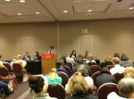"At the panel ""Time and Structure in the Novel."""