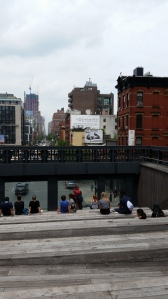 Peoplewatching people watching At the High Line yesterday